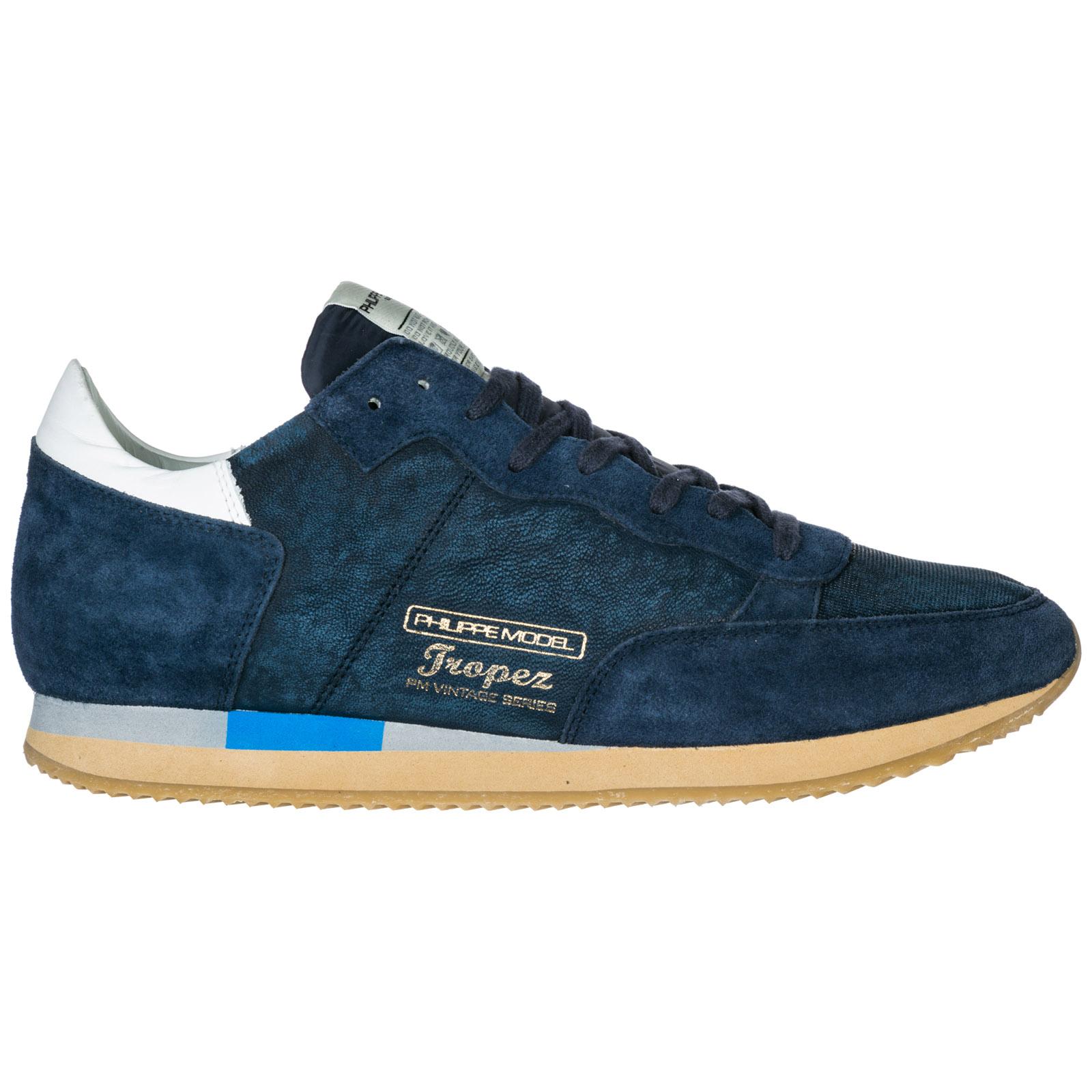 268b2faaebcd0 Men's shoes suede trainers sneakers tropez vintage