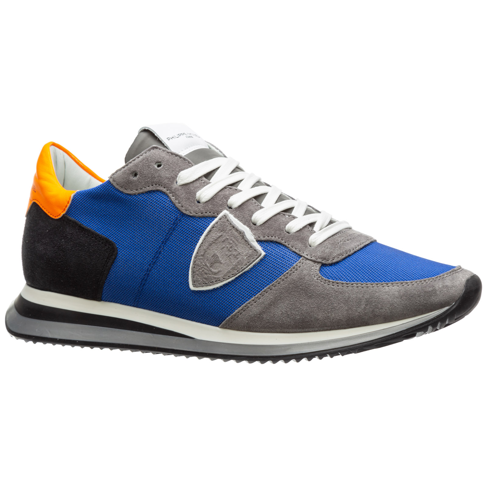 Men's shoes leather trainers sneakers tropez