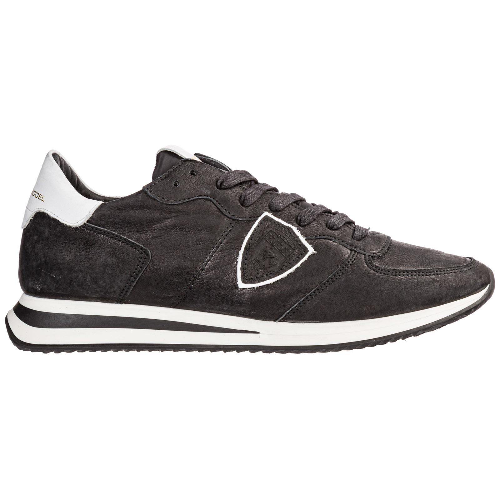 42d3841a40 Scarpe sneakers uomo in pelle tropez