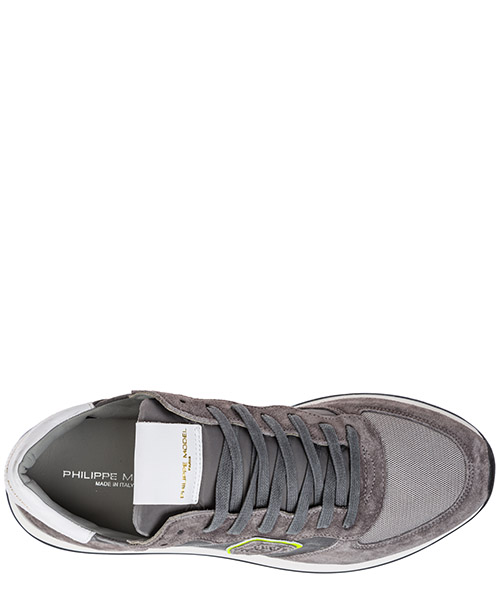 Chaussures baskets sneakers homme en daim tropez secondary image