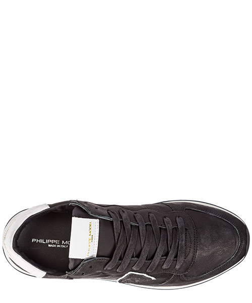 Chaussures baskets sneakers homme en cuir tropez secondary image