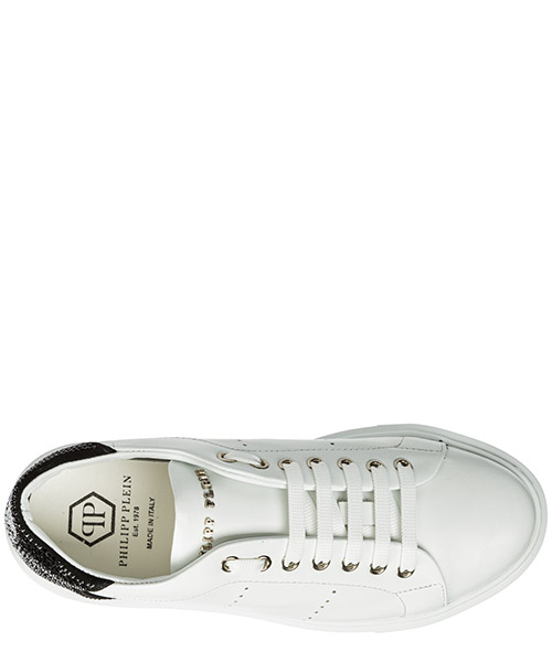 Scarpe sneakers donna in pelle skull secondary image