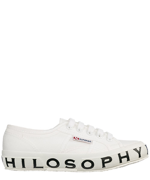 Sneakers Philosophy di Lorenzo Serafini Superga 182C J320171700001 bianco