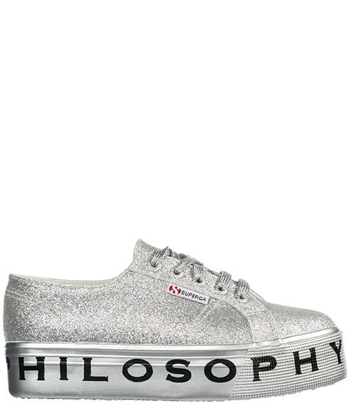 Sneakers Philosophy di Lorenzo Serafini Superga 182C J320271710600 argento