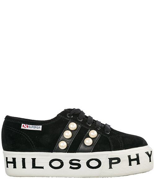 Sneakers Philosophy di Lorenzo Serafini Superga J32027174055535 nero