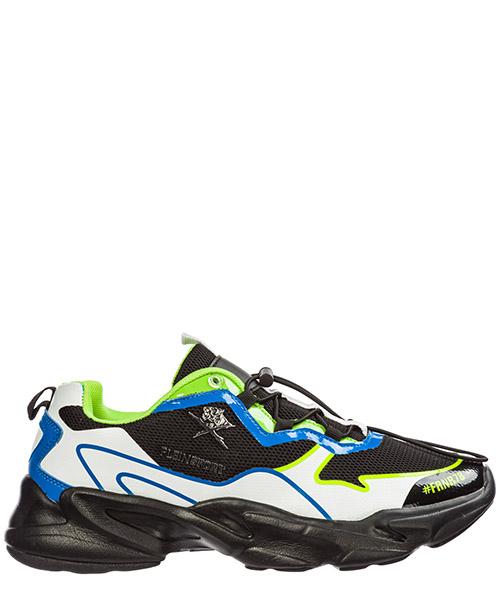 Sneaker Plein Sport Runner Logos A19S MSC2423 STE003N green