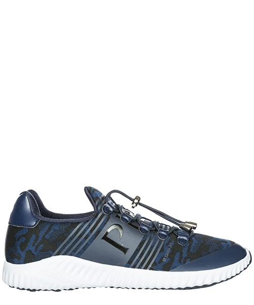 Беговая обувь Plein Sport Gravity F18S-MSC1365-SXV001N blue navy / black