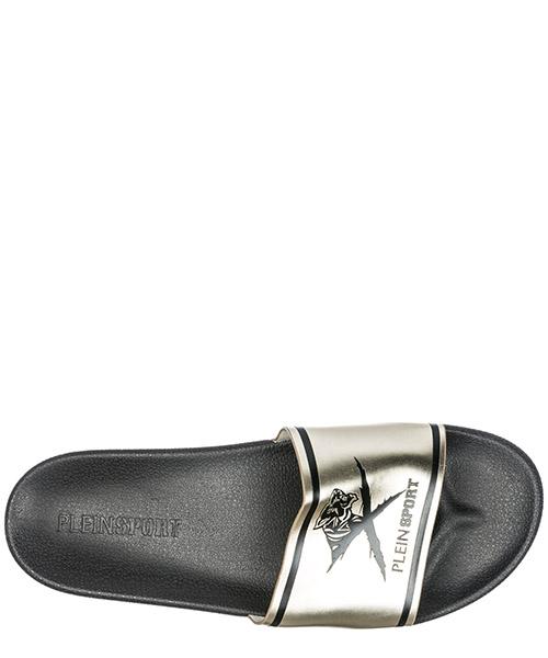 Mules sandales chaussons homme en caoutchouc  black soul secondary image