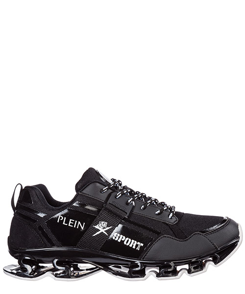 Беговая обувь Plein Sport Runner cross tiger F19S MSC2239 STE003N black