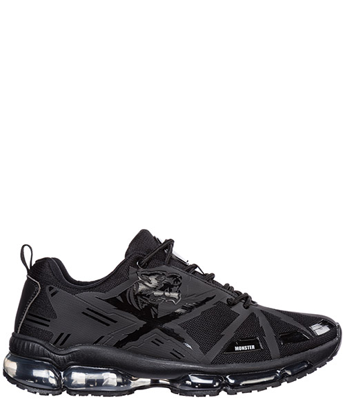 Беговая обувь Plein Sport Runner cross tiger F19S MSC2240 STE003N black