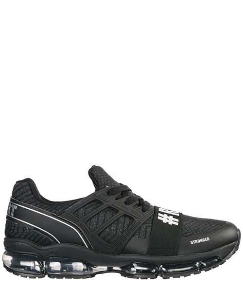 Running shoes Plein Sport Runner Original P19S MSC2025 STE003N nero