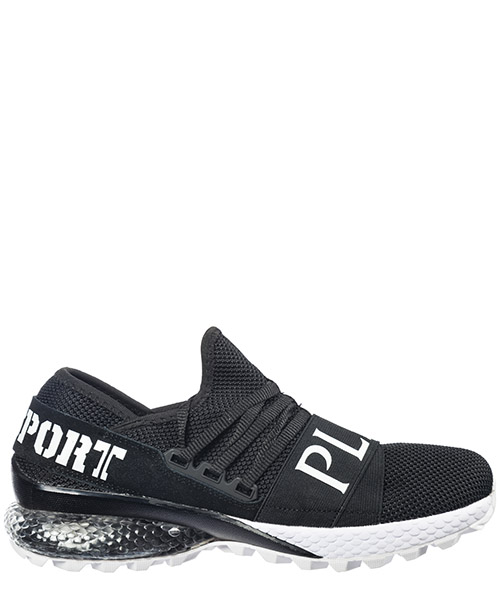 Turnschuhe Plein Sport Runner Statement S19S-MSC1866-STE003N_02 nero