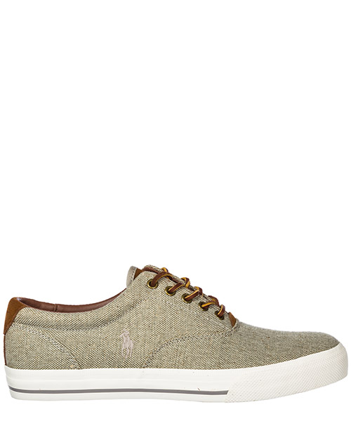 Basket Polo Ralph Lauren Wellington Tall A85 Y2037 BTHNSA0030 grigio