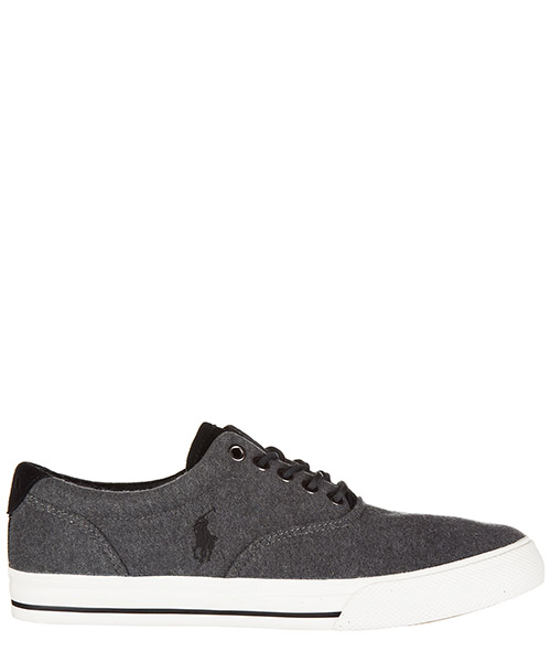 Sneakers Polo Ralph Lauren vaughn A85 Y2037 DC041A0037 charcoal grey