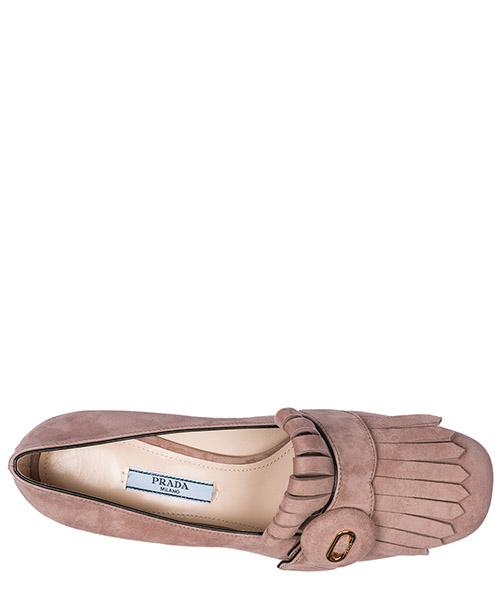 туфли-декольте женские на каблуке замшевые secondary image