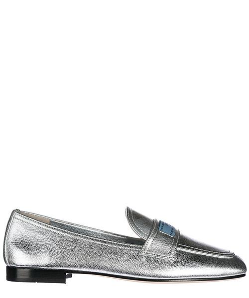 Mocassini Prada 1D485I 1FV F0118 argento