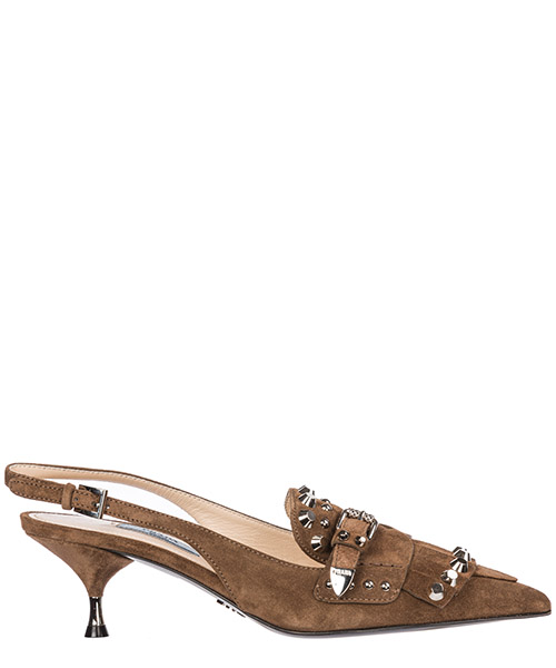 Pumps Prada 1D692I_054_F0594 marrone