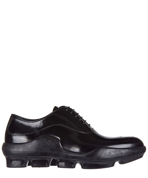Lace-up shoes Prada 1E047G 055 F0002 nero