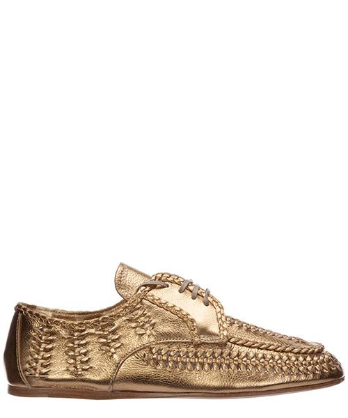 Lace-up shoes Prada 1E177M_XQL_F0522_F_005 platino