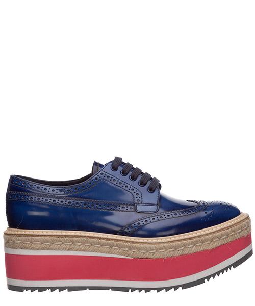 Высокие каблуки Prada 1E206D27XQRCOBALT cobalto