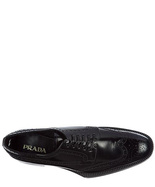 Chaussures à lacets classiques femme en cuir derby secondary image