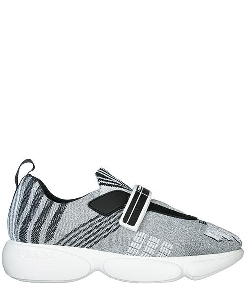 Sneakers Prada Cloudbust 1E651I_3KK7_F0A0N_F_D040 argento + bianco