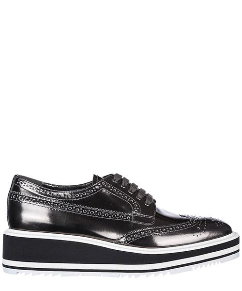Высокие каблуки Prada 1E722E273D5OANTRA antracite