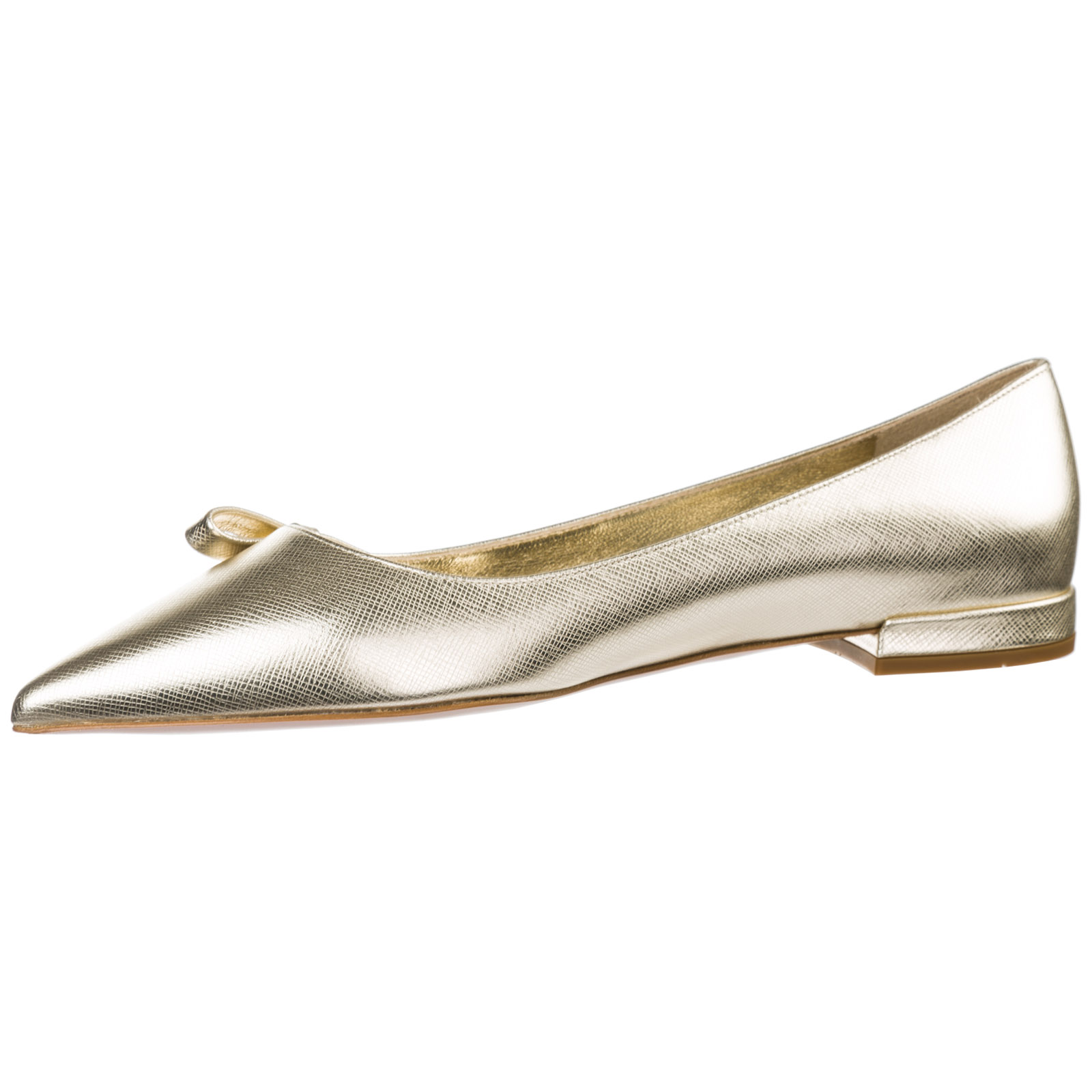 Women's leather ballet flats ballerinas