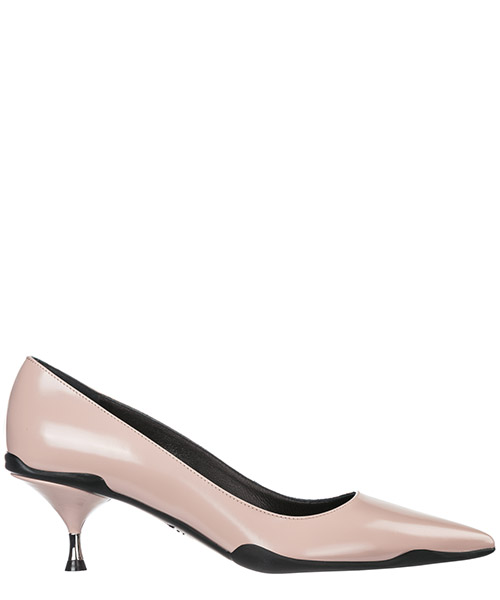 Women's leather pumps court shoes high heel opanca