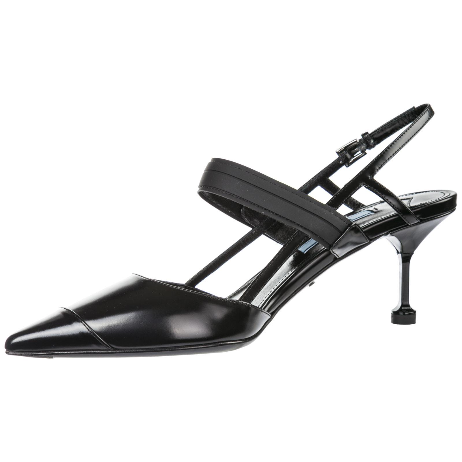 Women's leather pumps court shoes high heel opanca