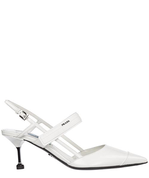 Zapatos de salón Prada 1I296I_AZ3_F0009 bianco