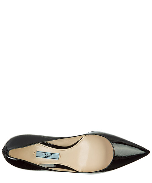 Decolletes decoltè scarpe con tacco pelle secondary image