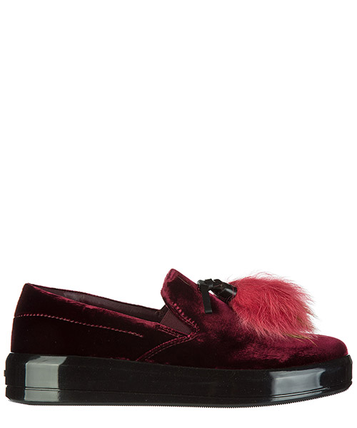 Scarpe slip on Prada 1S111I W72 F0007 bordeaux