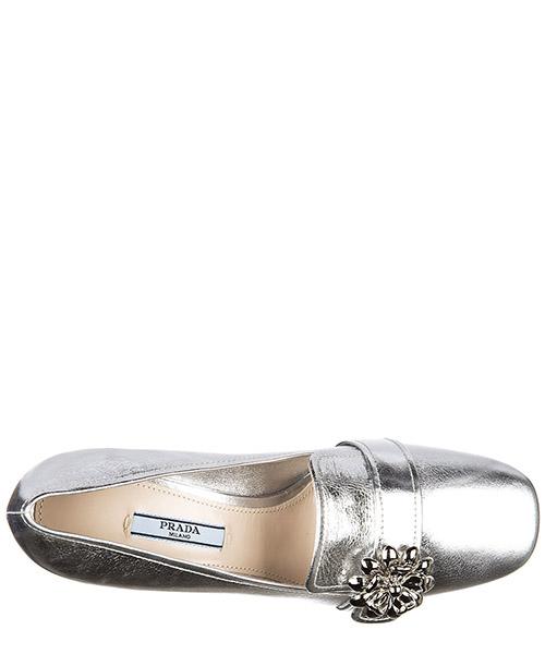 Decolletes decoltè scarpe donna con tacco pelle shine secondary image