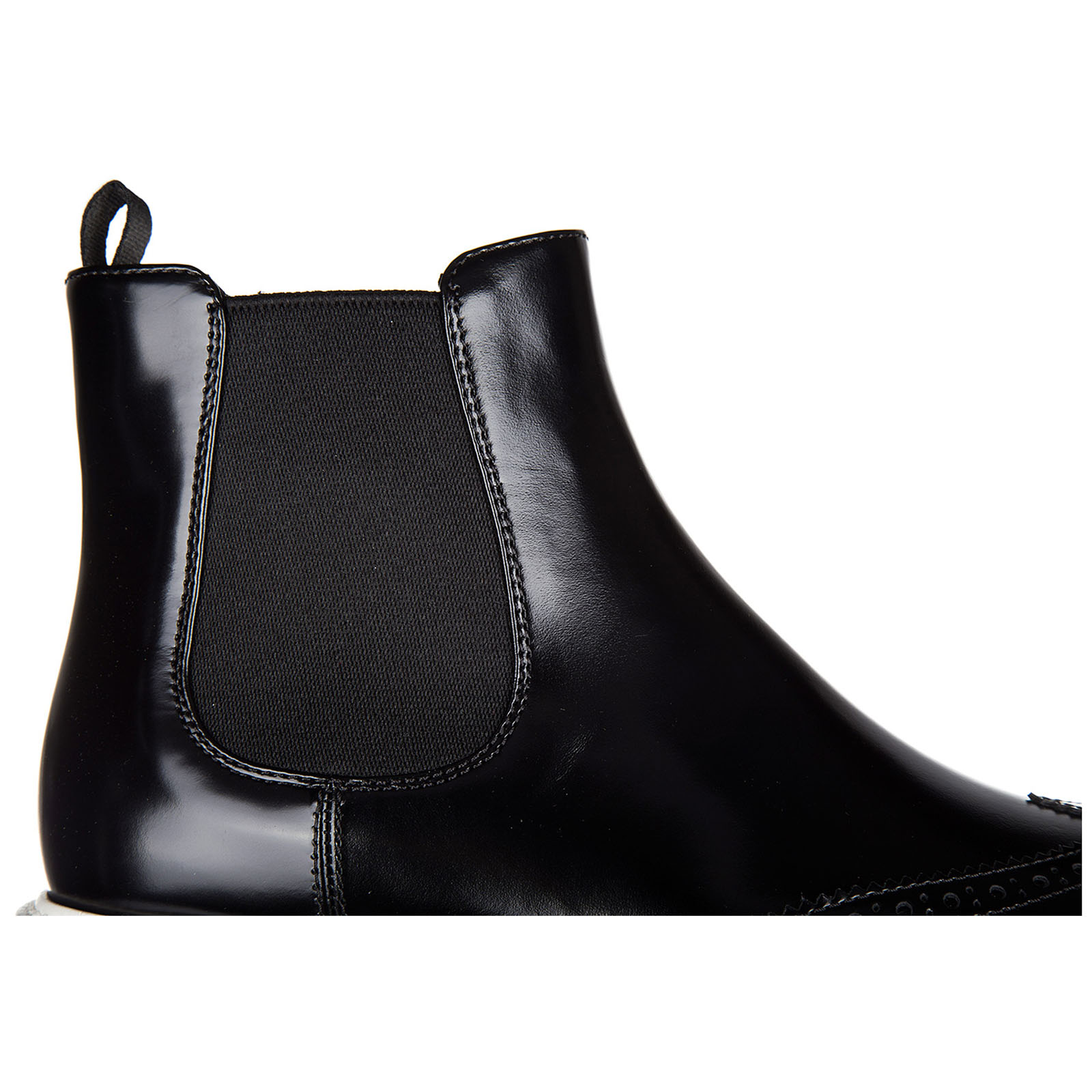 Women's leather ankle boots booties spazzolato