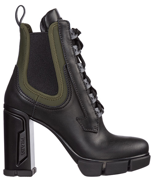 Сапоги на каблуках Prada 1T105L_3KMM_F098A_F_110 nero