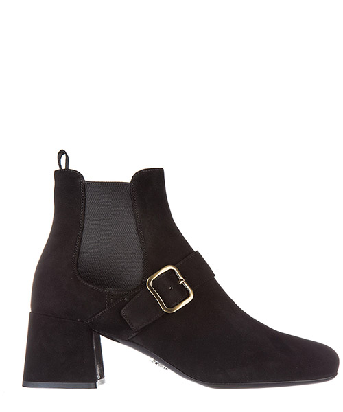 Heeled ankle boots Prada 1T159H 008 F0002 nero