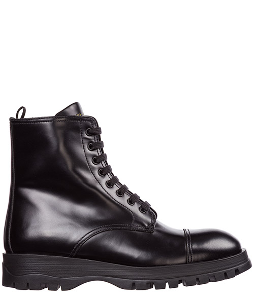 5eb8bdb9c73df2 Ankle boots Prada 1T595L_B4L_F0002_F_030 nero Women's leather ...