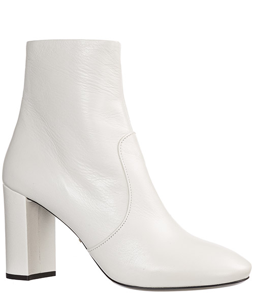 Women's leather heel ankle boots booties secondary image