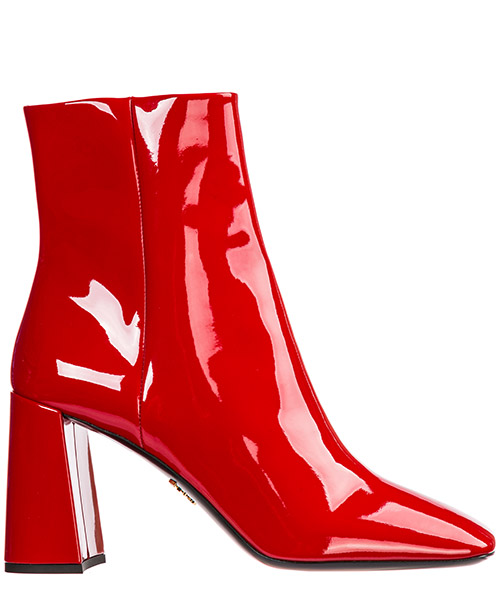 Heeled ankle boots Prada 1T722L_069_F0011_F_085 rosso