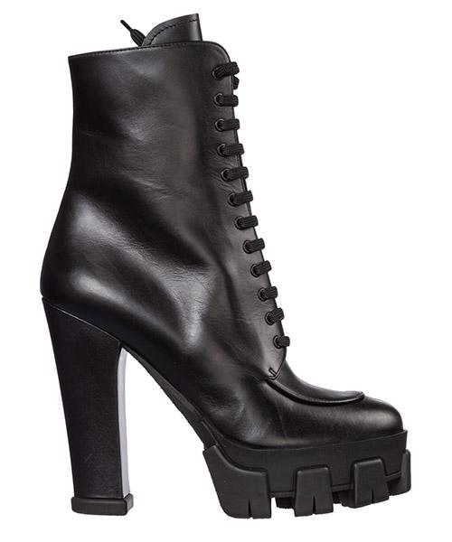 Сапоги на каблуках Prada 1t864l_07i_f0002_f_130 nero