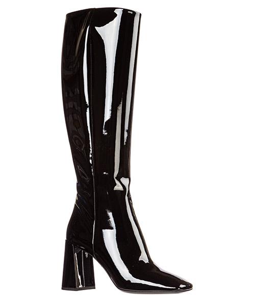 Botas de tacón mujer en piel secondary image