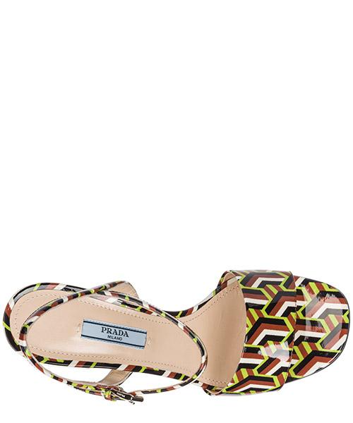 Sandalias de tacón mujer en piel secondary image