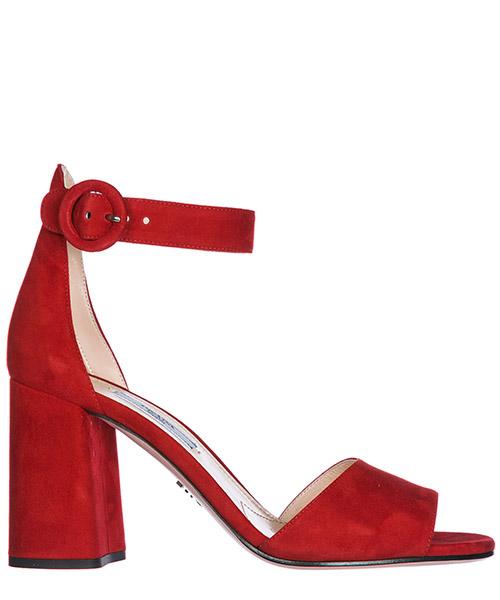 Сандалии Prada 1X515I_008_F0011_F_085 rosso