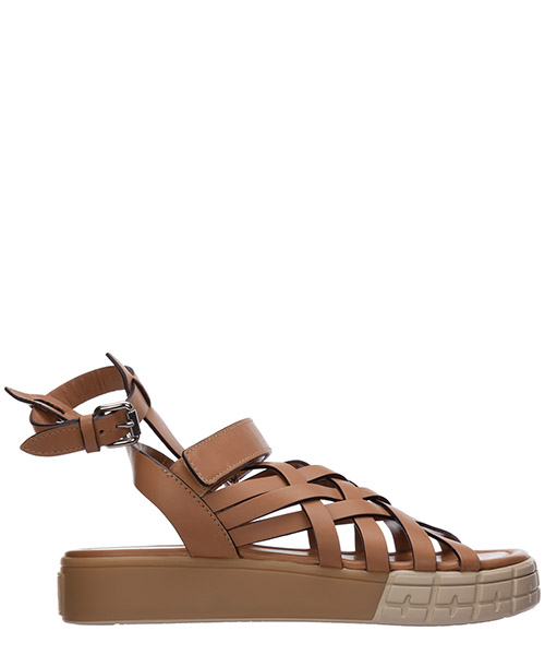 Sandals Prada 1X957L_248_F0018_F_030 marrone