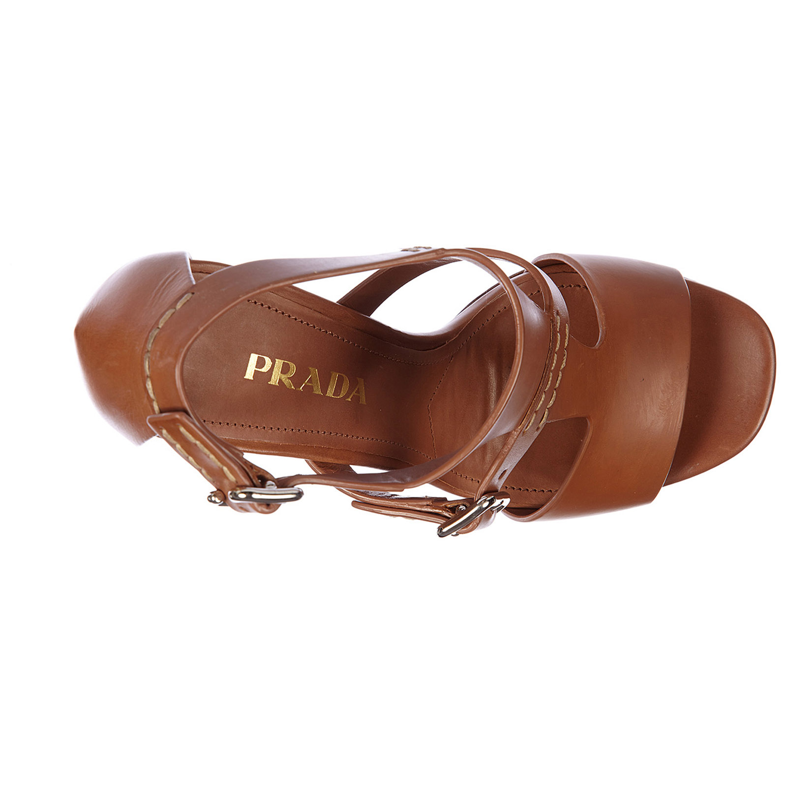 Women's leather heel sandals vitello lux