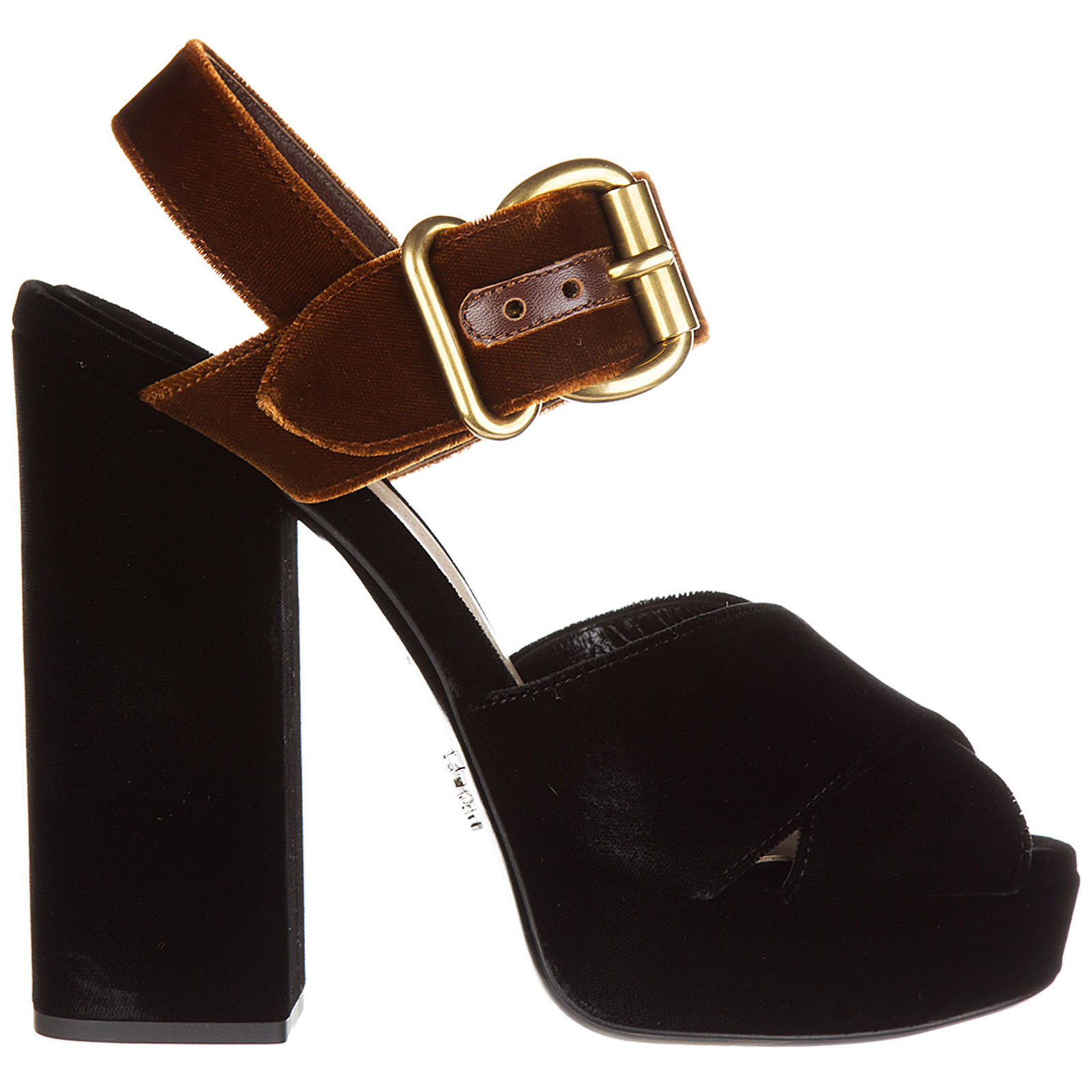 cba81c2a072a Sandals Prada 1XP873 866 F034S nero + tabacco