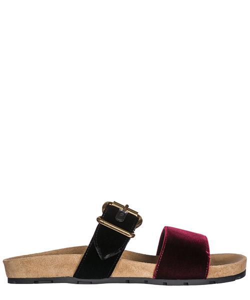 Slides Prada 1XX354_866_F0C5A rosso