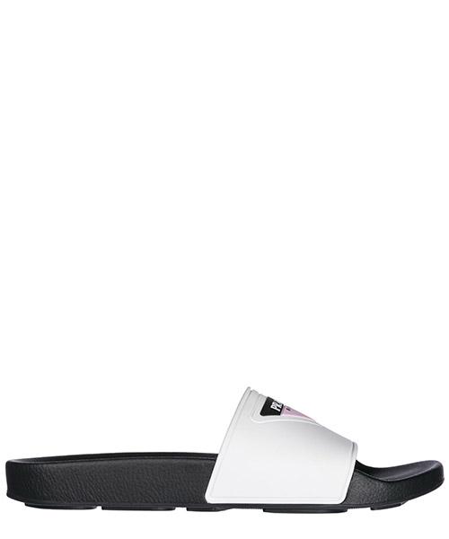 Mules sandales chaussons femme en caoutchouc