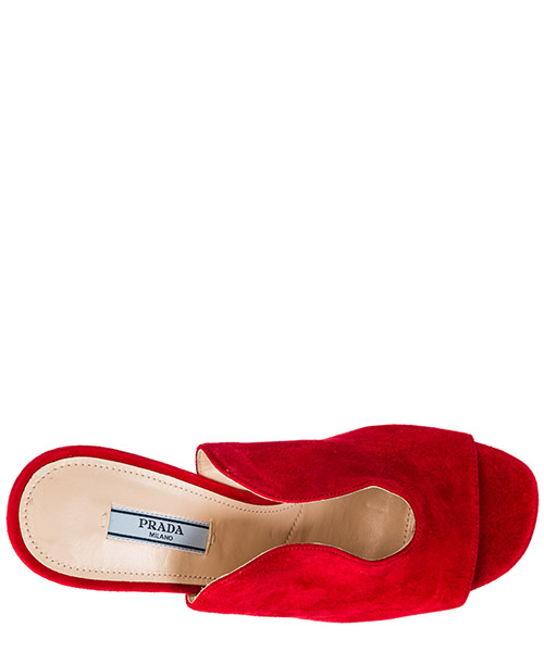 Women's suede mules clogs secondary image